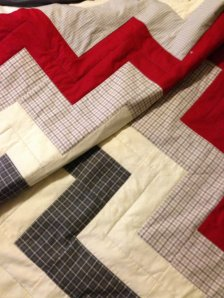 Very simple quilting, but not as easy as it looks!