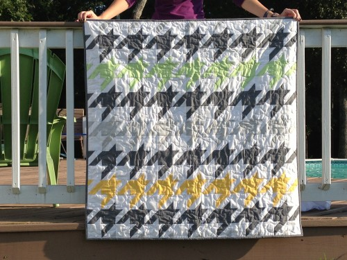 Houndstooth | the green apricot : houndstooth quilt pattern - Adamdwight.com